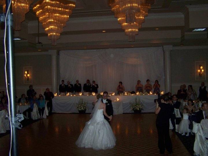 Bride and Groom First Dance with Wedding DJ Bradford Ontario